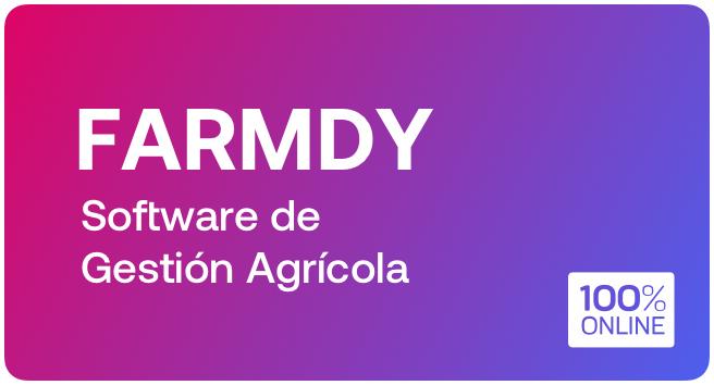 Curso: Software de Gestión Agrícola
